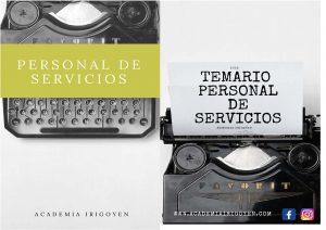 Temario Personal de Servicios