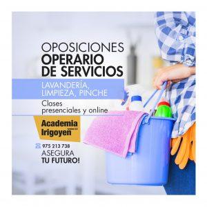 Oposiciones Operario de Servicios