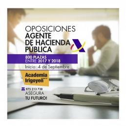 Oposiciones Agente Hacienda Pública