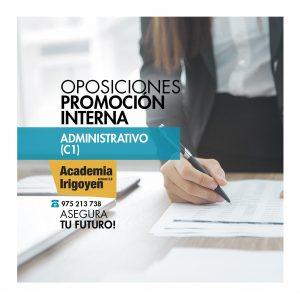 Oposiciones Administrativo promoción interna