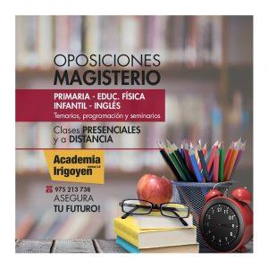 Oposiciones Magisterio primaria, infantil, inglés y educación física