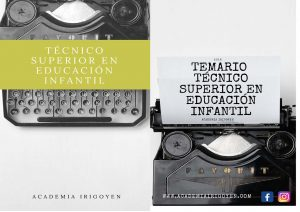 Temario Técnico Superior en Educación Infantil
