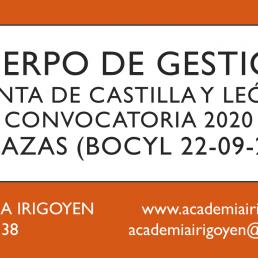 Gestión turno libre JCyL 2020