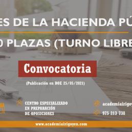Agentes de la Hacienda Pública Convocatoria 2021